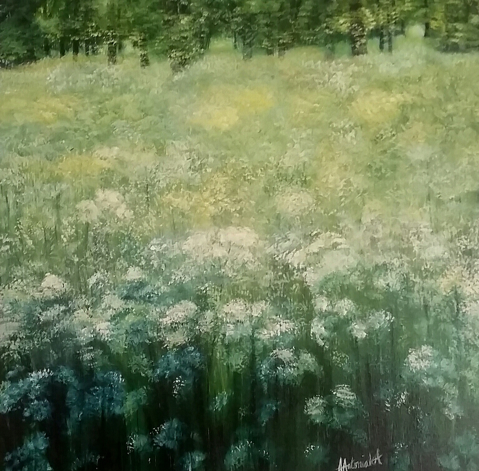 Cow Parsley, SOLD