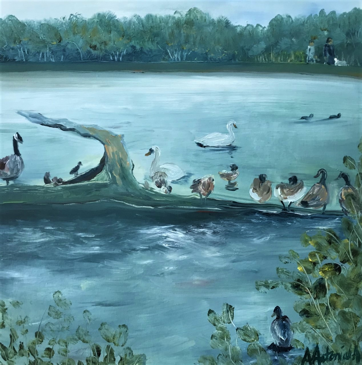 September Day, Earlswood Lake, (sorry, now SOLD)