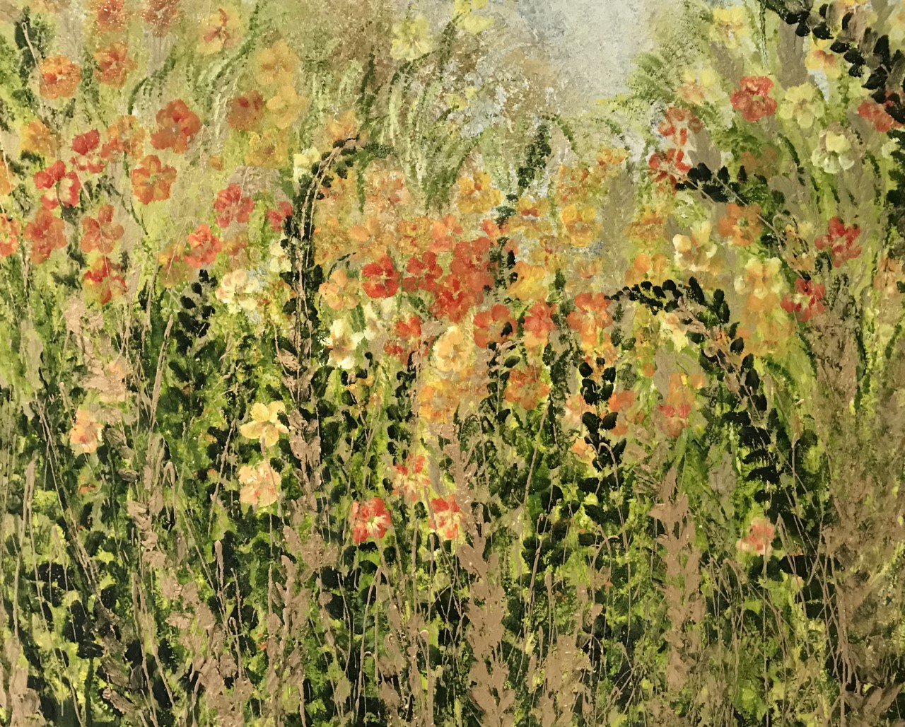 Among the Fields of Gold (this painting has been donated to raise money for the school's PTA)