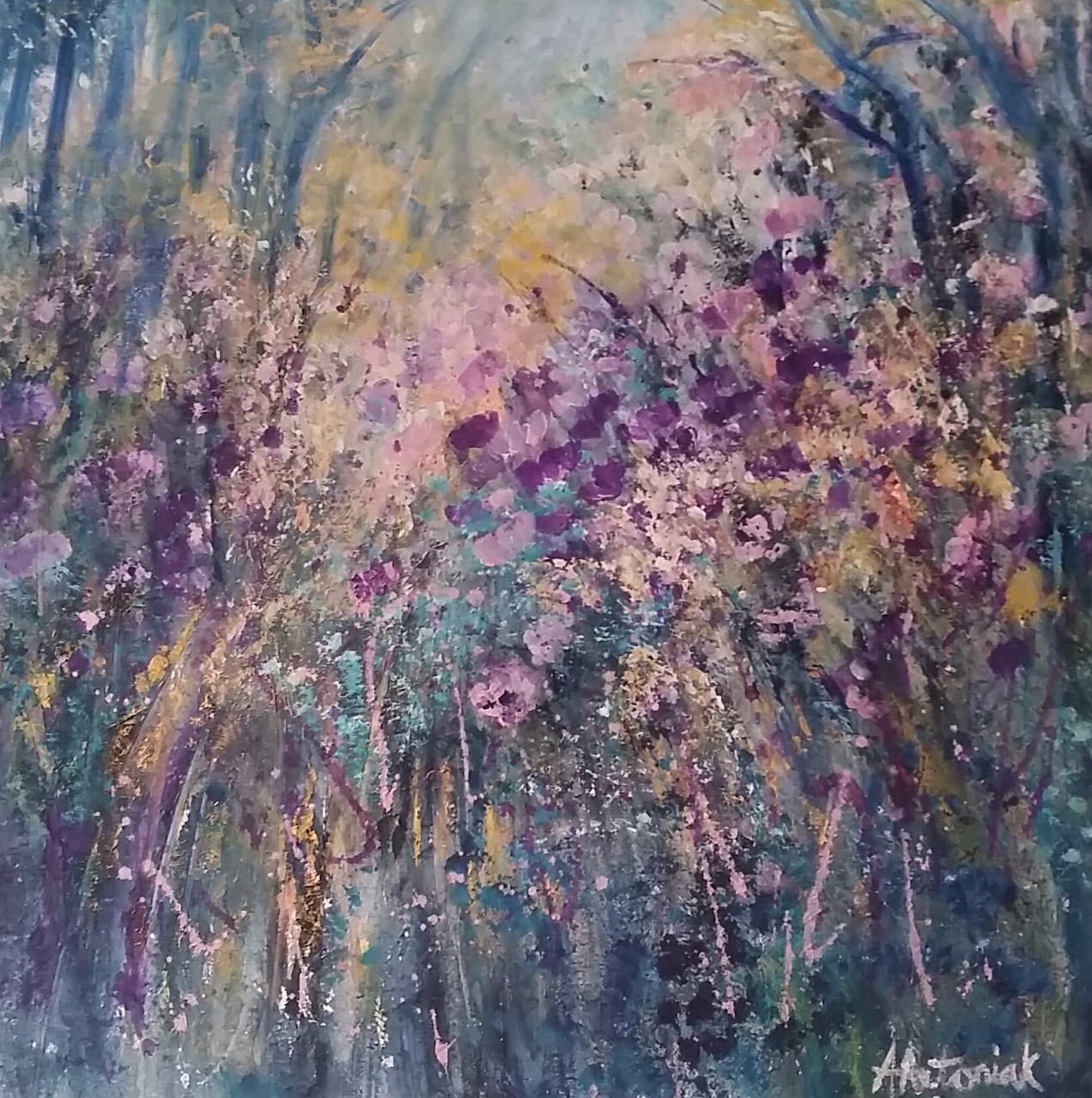 Secret Forest, (sorry, now SOLD)