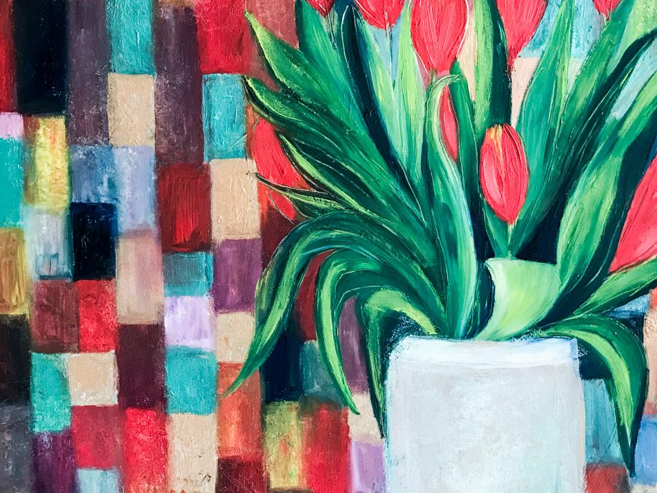 Tulips, Oil Painting, £250, SOLD