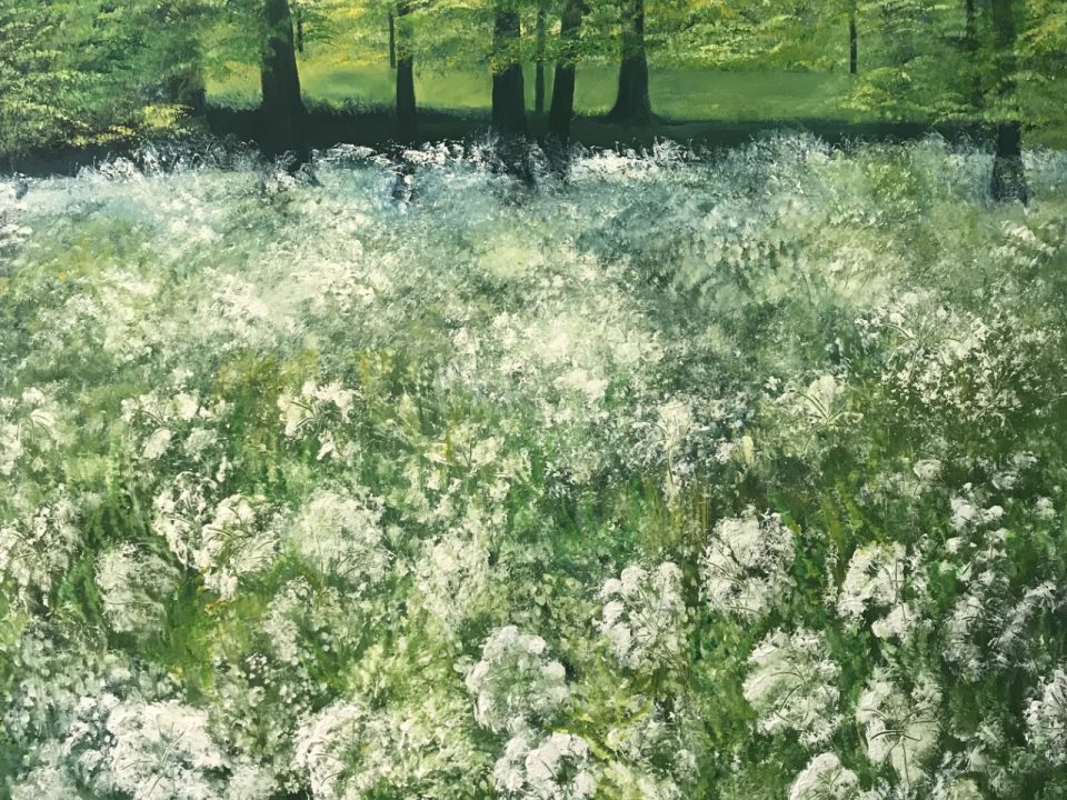 Cow Parsley, Priory Park, Reigate, SOLD