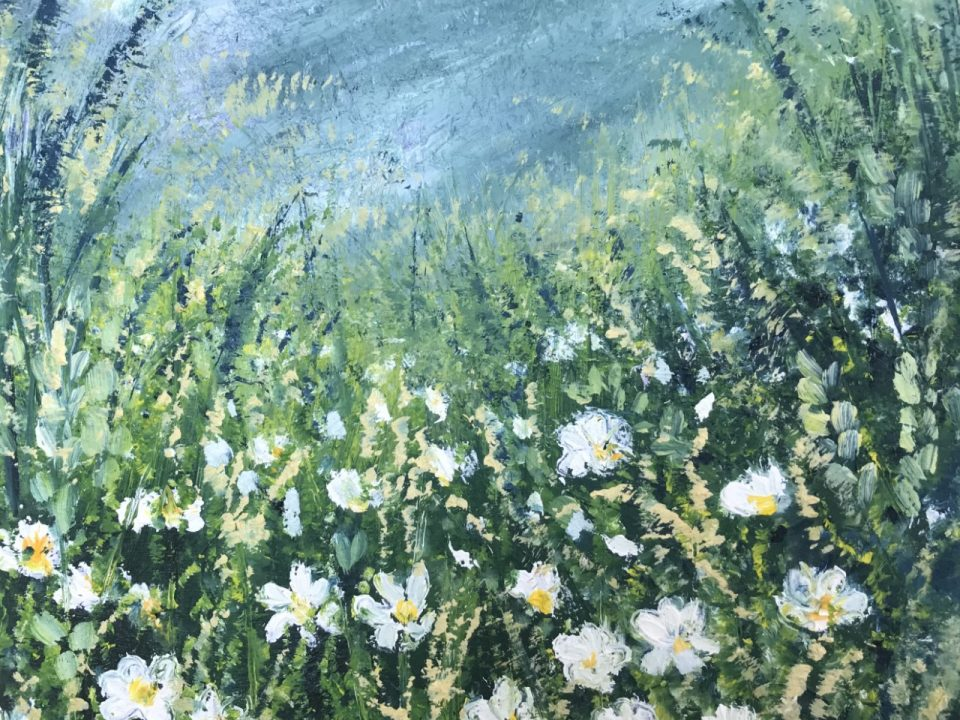 Daisy Wild, Oil Painting, £45