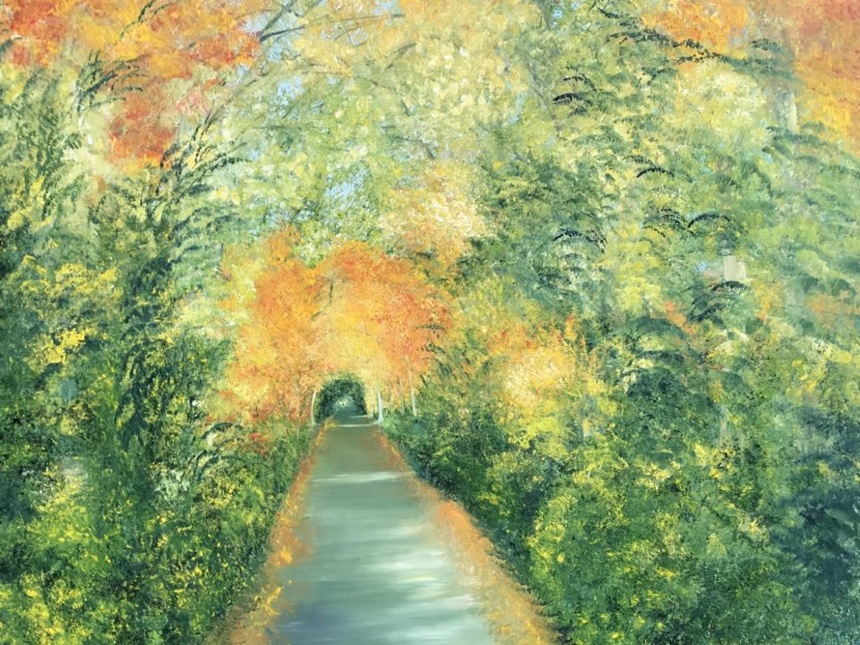 Autumn, Large oil painting, £600