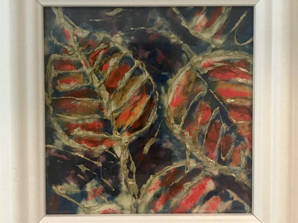 Leaf Collage, Framed, £45