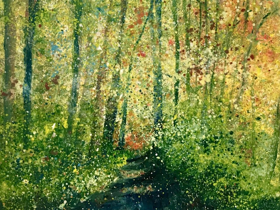 Autumn Pathway, £65, SOLD