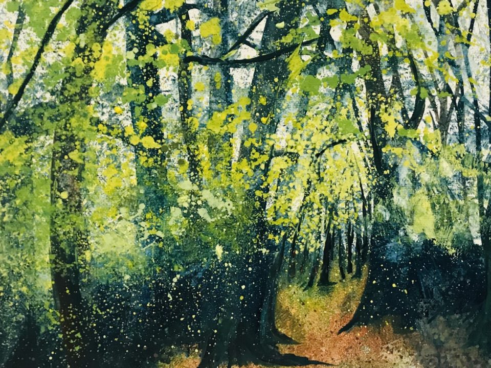 Autumn Woodland, £65, SOLD