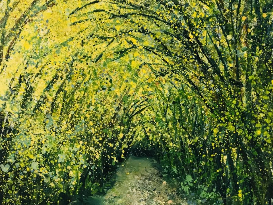 Autumnal Tunnel, £65, SOLD