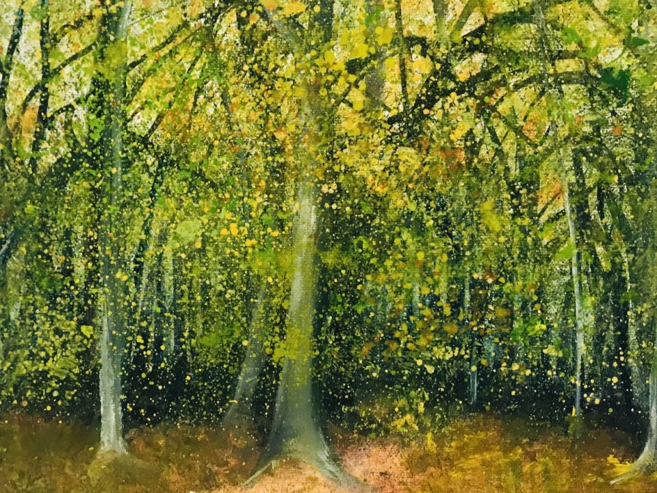 Forest Fall, £65, SOLD