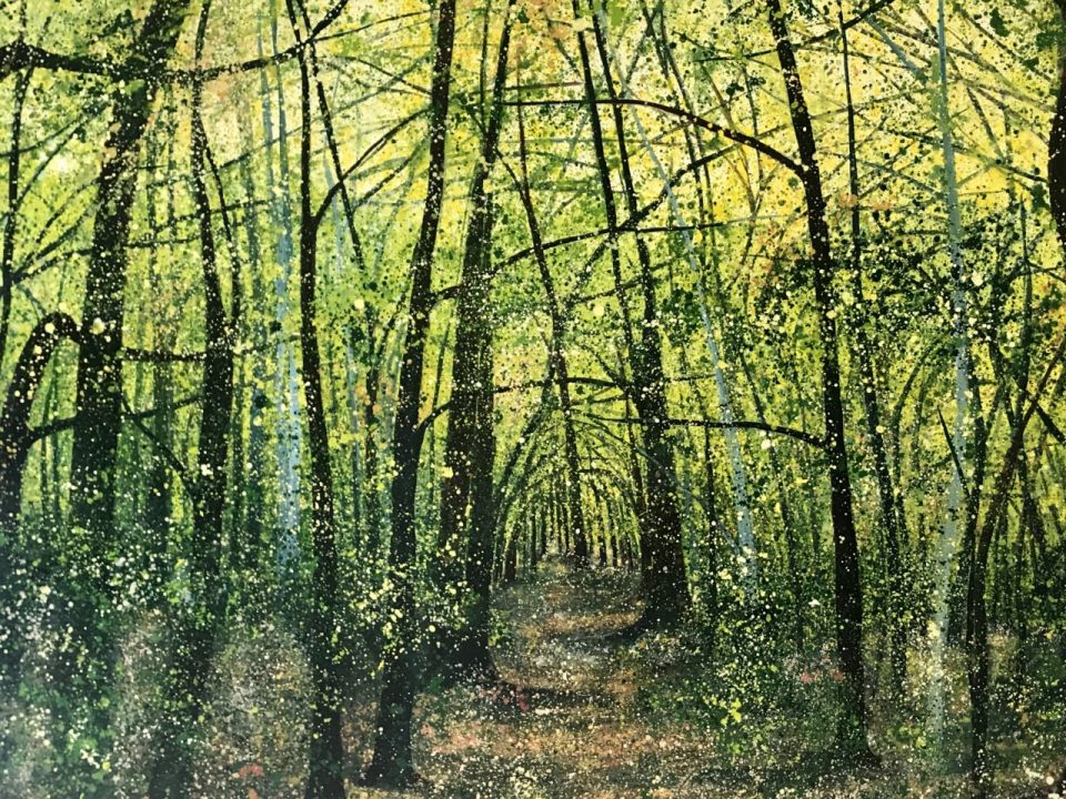 THe Beautiful Forest, SOLD