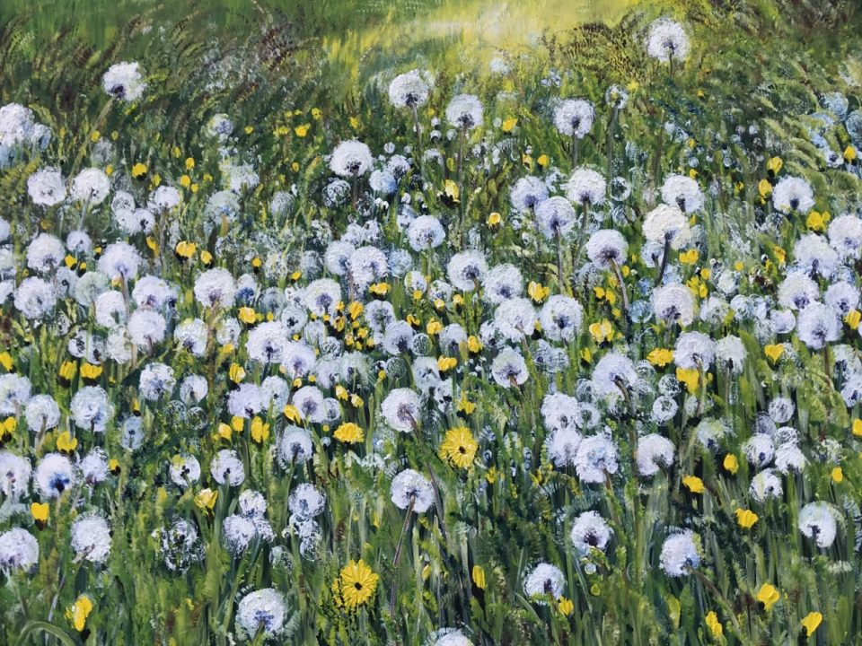 Dandelion Clocks, £600