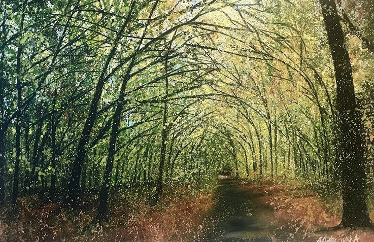 Autumn Tunnel, £200