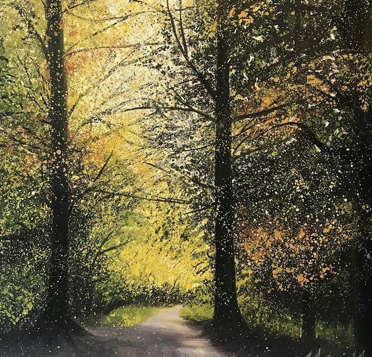 Autumn Walk at Box Hill Woods, £200