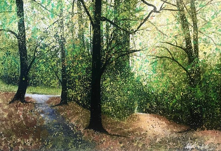 Autumn Walk, Priory Park, £200