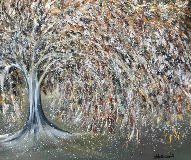 Autumn to Winter Tree, 80 x 60cm, £130