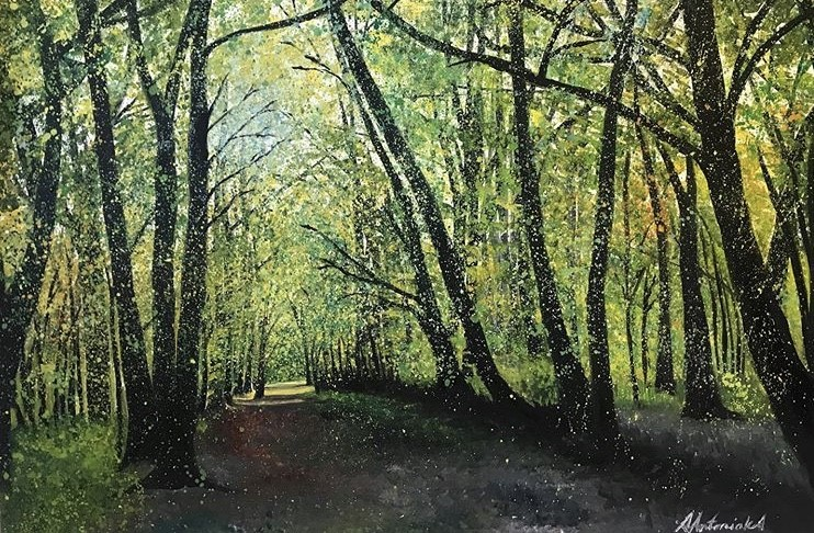 Equinox Walk in the Woods (Salfords, Surrey), £300 (SOLD)