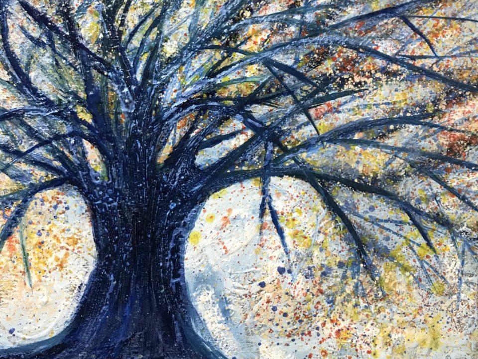 Winter Tree, 30 x 30cm, £50