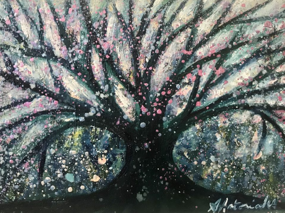 Winter's Tree, (Sold)